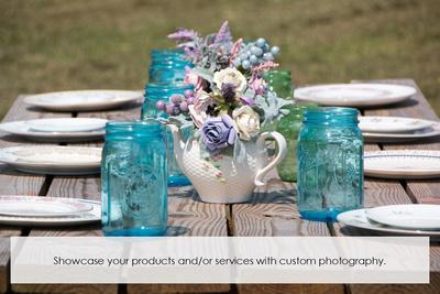 Custom stock photos for your business