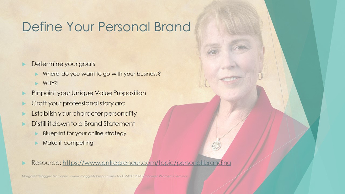 Steps to define your personal brand