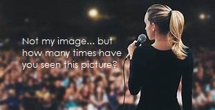 Don't use the same image everyone else is.